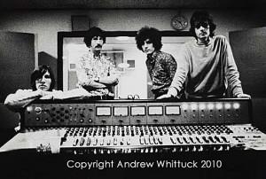 Pink Floyd at Abbey Road Studios, July 1967